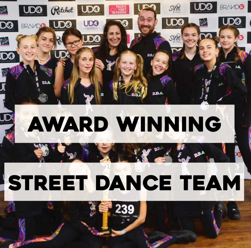 DDA Award winning street dance classes